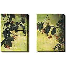 Gallery Direct Sara Abbott 'Wonderland' 2-piece Canvas Art Set