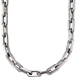 Stainless Steel Men's Link Necklace