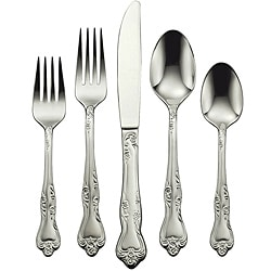 Oneida 'Azalea' 45-piece Stainless Steel Flatware Set