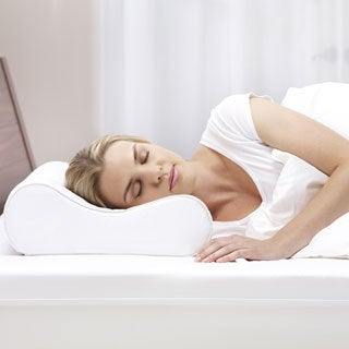 Bodipedic Memory Foam Medium Comfort Standard-size Contour Pillow