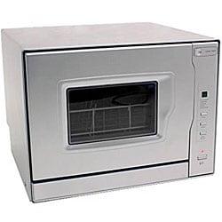 EdgeStar Silver Portable Countertop Dishwasher - Free Shipping Today ...