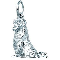 Sterling Silver 'American Pit Bull' Charm