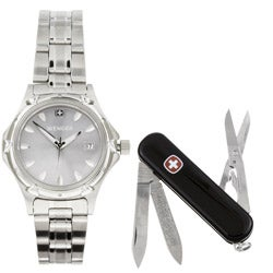 Shop Wenger Standard Issue Ladies Watch Swiss Army Knife