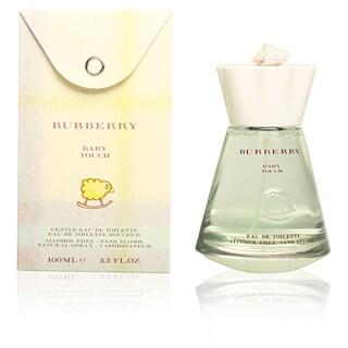 Burberry Baby Touch Alcohol-Free Women's 3.3-ounce Eau de Toilette Spray