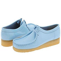 Womens Light Blue Patent Leather