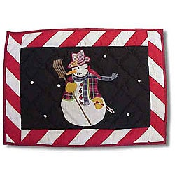 Frosty Snowman Placemats (Set of 4)