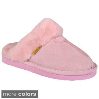 Brumby Women's Backless Sheepskin Slippers