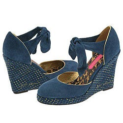 Betsey Johnson Never Blue Suede - Thumbnail 0