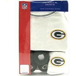 Shop Green Bay Packers Infant 3 Piece Onesie Set 3 6