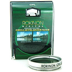 Rokinon 30mm High Definition CPL Camera Lens Filter