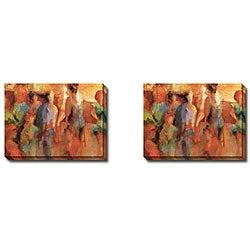 Gallery Direct Caroline Ashton 'Rehearsal I and II' 2-piece Canvas Art Set