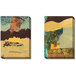 Gallery Direct Phoenix 'Marriage of Sea and Sky I and II' Art Set