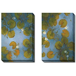 Gallery Direct Kim Coulter 'Blue Pool I and II' 2-piece Canvas Art Set