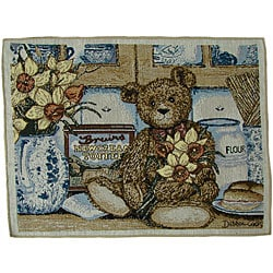 Shop Daffodil Bear Tapestry Placemats Set Of 6 Free