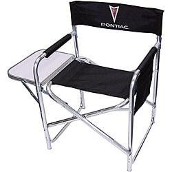 Peachy Pontiac Logo Director Chair Overstock Com Shopping The Best Deals On Camp Furniture Inzonedesignstudio Interior Chair Design Inzonedesignstudiocom
