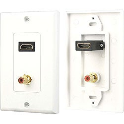 PylePro HDMI and Audio Jack Wall Plate