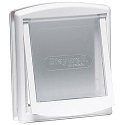 Staywell Small White Hard Flap Pet Door