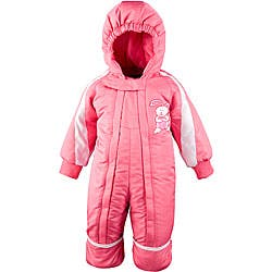 Toddler Girl's 12-month One-piece Pink Snowsuit|https://ak1.ostkcdn.com/images/products/P11747189.jpg?impolicy=medium