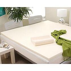 Shop Eco Friendly 4 Inch Memory Foam Mattress Topper And