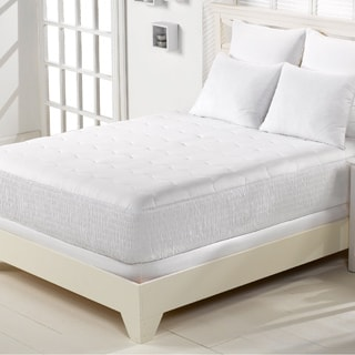Beautyrest Cotton Blend Mattress Pad