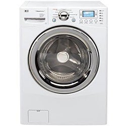 Thumbnail 1, LG WM3988HWA 4.2-cubic-foot White Steam Washer/ Dryer Combo.