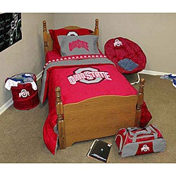 ohio state bedroom ohio state comforter set free shipping today 12731