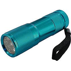 O.F. Bonzer Polished Dark Turquoise Flashlight - Thumbnail 0