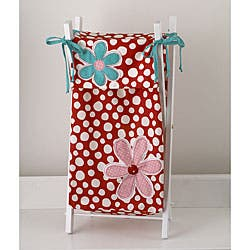 Cotton Tale Lizzie Hamper with Frame - Hold 2 - 4 loads of laundry