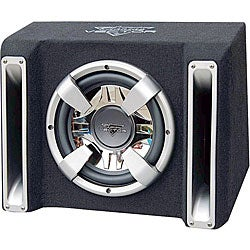Lanzar VCHB112 1200-watt Single 12-inch Slim Bass Box System