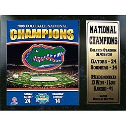 Florida Gators '08-09 Champions 12x15 Stats Plaque - Thumbnail 0