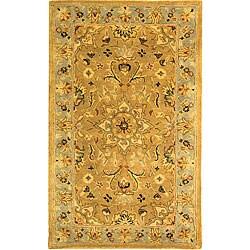 Safavieh Handmade Classic Heirloom Beige Wool Runner (2'3 x 4')