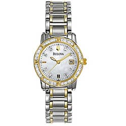 Bulova Women's Diamond Accent Calendar Watch|https://ak1.ostkcdn.com/images/products/P11894911.jpg?impolicy=medium