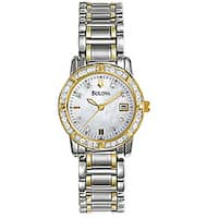 Bulova Women's Diamond Accent Calendar Watch
