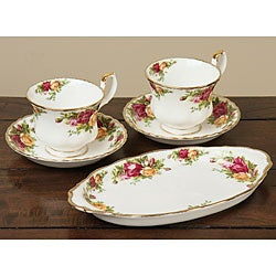 Royal Albert Old Country Roses 9-piece Teaware Set