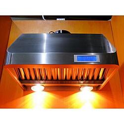 Cavaliere-Euro 36-inch Under-cabinet Range Hood