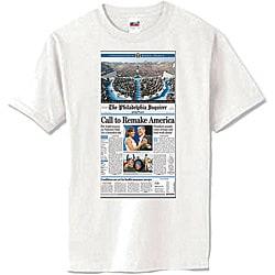 Obama Phillies White T-shirt