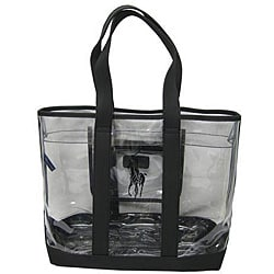 Polo Ralph Lauren Clear/ Black Pony Tote