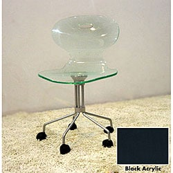 shipping returns acrylic office chair