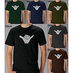 Los Angeles Pop Art Men's 'Hang Loose' T-shirt