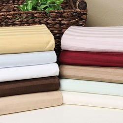 Superior 100-percent Premium Long-staple Combed Cotton 650 Thread Count Queen Waterbed Sheet Set