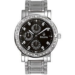 men s bulova diamond watches best watchess 2017 bulova men s diamond multifunction watch shipping today