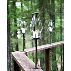 Pewter Love Bracket Torches (Set of 3)