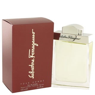 Salvatore Ferragamo Men's 3.4-ounce Eau de Toilette Spray