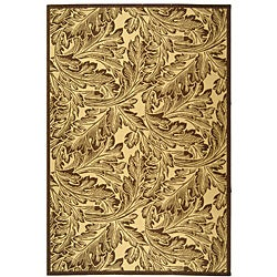 Safavieh Acklins Natural/ Brown Indoor/ Outdoor Rug (7'10 x 11') - Thumbnail 0