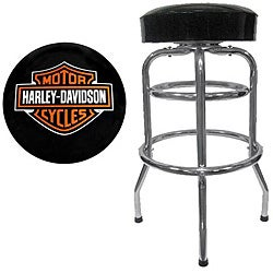 Amazing Harley Davidson Bar Stool Overstock Com Shopping The Best Deals On Bar Stools Squirreltailoven Fun Painted Chair Ideas Images Squirreltailovenorg