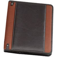 Biltmore Rust Napa Leather Executive Padfolio