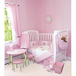 Shop Trend Lab Darling Daisy 4 Piece Crib Bedding Set