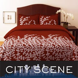 City Scene Branches Spice Duvet Cover Set. Opens flyout.