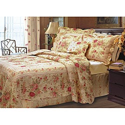 Greenland Home Fashions Antique Rose Bedspread Set - Thumbnail 0