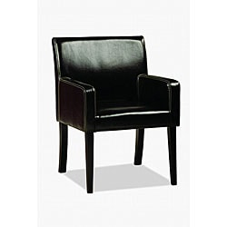 Thumbnail 1, Jovita Bi-cast Leather Chair Black.